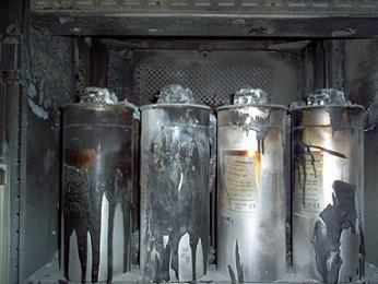 uszkodzone baterie kondensatorów